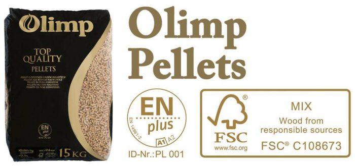 Olimp Pellets Banner